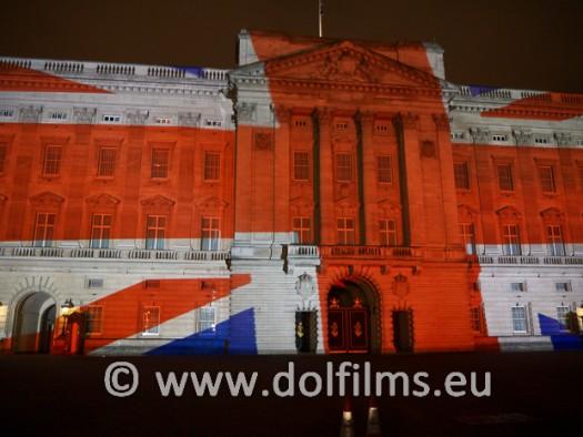 stock photo London Buckingham palace