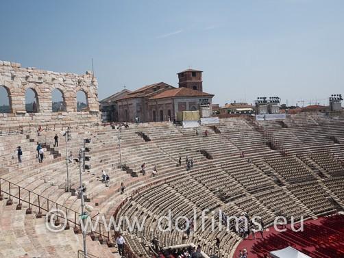 stock foto arena Verona