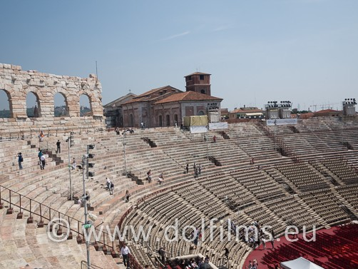 stock photo arena Verona