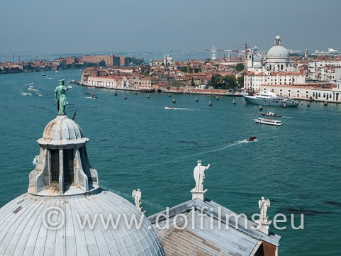 stock photo Venice grand canal
