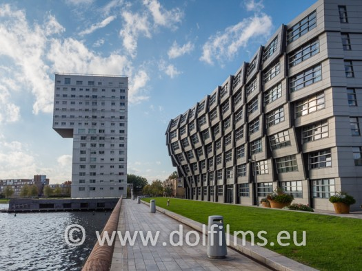 stock photo Almere architecture