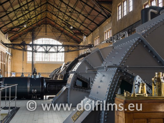 stock photo Wouds steam pumping station