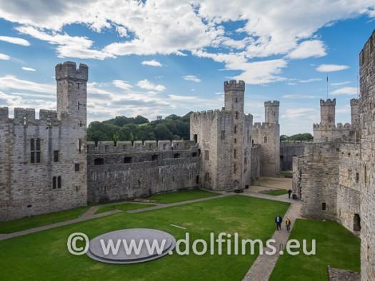 stock photo Wales castle