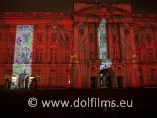 stock photo Buckingham palace