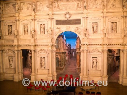 stock foto teatro olimpico Vicenza