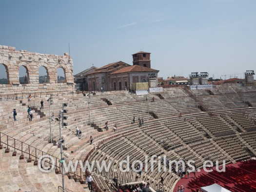 stock photo Verona arena