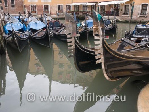 stock foto gondolas Venice