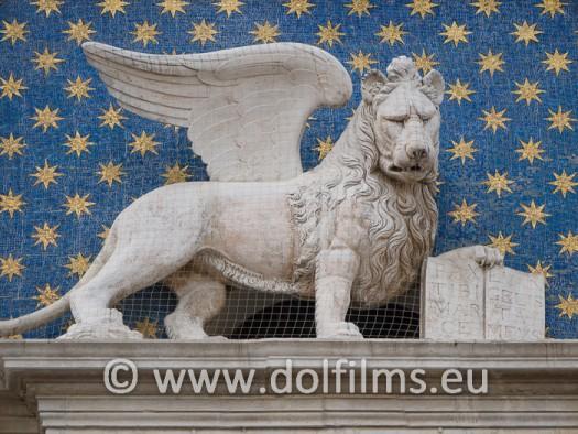 stock foto lion of Venice