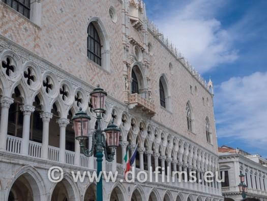 stock photo Venice doge's palace