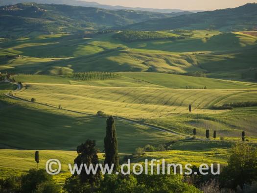 stock foto dusk Tiscany