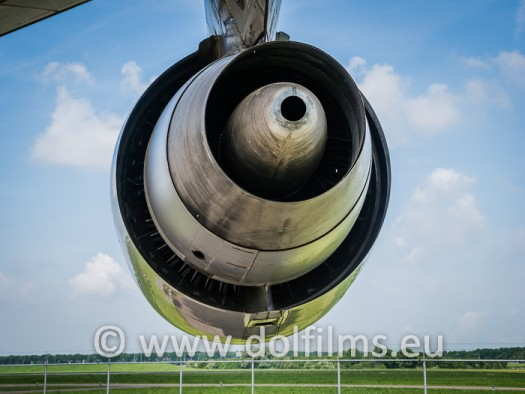 stock photo engine jumbo jet