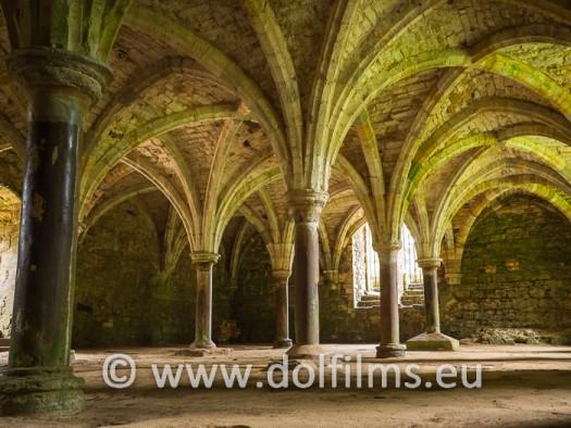 stock photo Hastings abbey