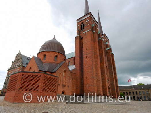 stock photo Roskilde cathedral