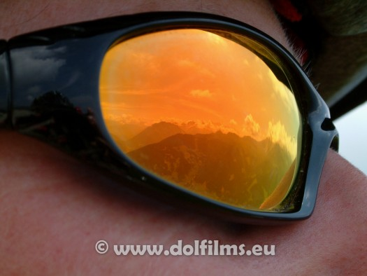 stockfoto mountain biker glasses